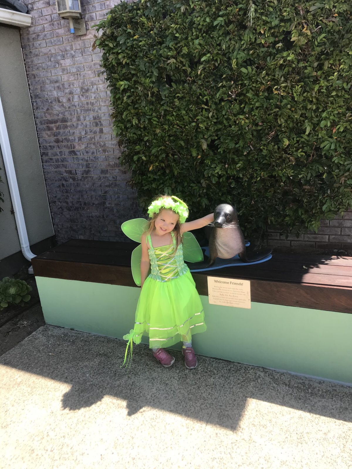 Ava Kalea Kennedy as Tinkerbell